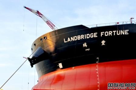 岚桥集团首艘30.8万吨VLCC命名交付