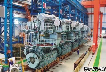 宜昌船柴接获马尾造船4台柴油机订单