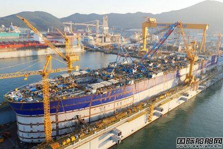 大宇造船计划分拆舰船建造业务