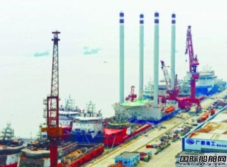 广新海工首座自航自升式服务平台试航成功