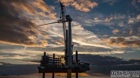 世界最大海上风力发电机成功安装