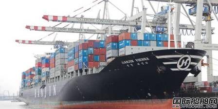 现代商船部署集装箱船减轻出口中断问题