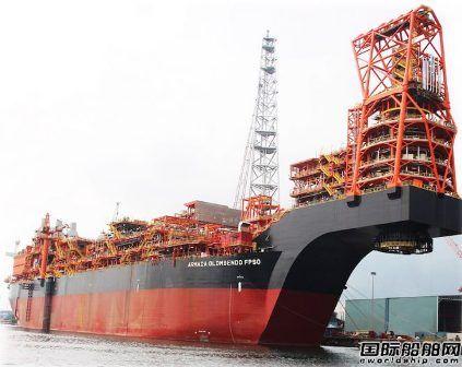 吉宝船厂将交付世界最大FPSO