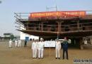 黄埔海工8000kw抢险打捞拖轮铺龙骨