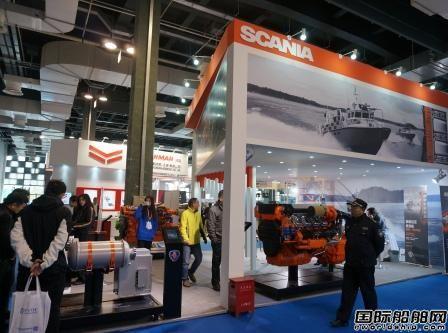 斯堪尼亚携最新船用发动机亮相Seawork Asia