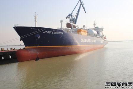 """南通太平洋海工再交一艘""""龙""""液化气船"""