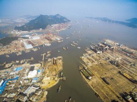 台州造船业,潮起又潮落