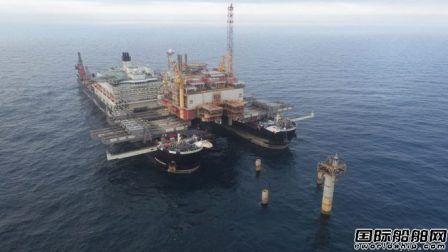 全球最大海工船获黑海铺管合同