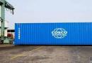 中远海运首台集装箱顺利下线