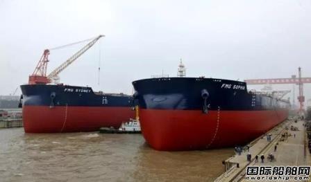 扬子江船业发力!单日实现6大生产节点
