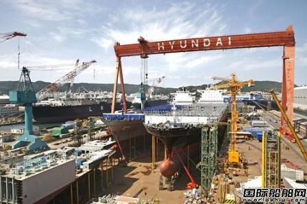 韩国造船业明年恐爆债务违约潮