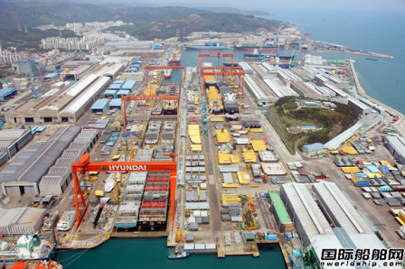 现代重工获亚洲最大FSRU建造合同