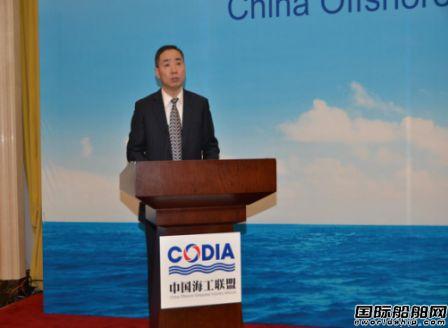 辛国斌出席中国海工联盟成立大会