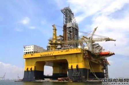 中集蓝鲸1号取得DNV GL入级证书