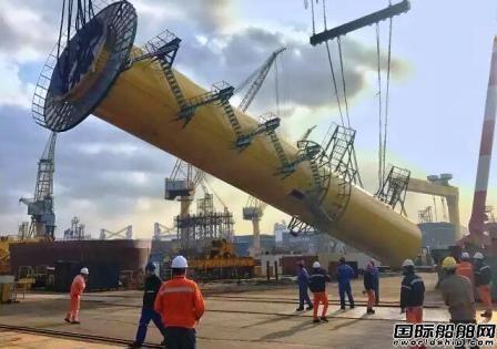 """三航新能源公司成功改装""""三航工5""""半潜驳"""