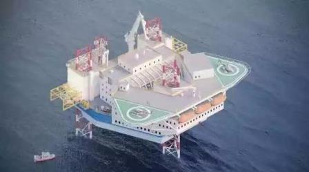 上船院开启自升式居住船设计进军风电市场