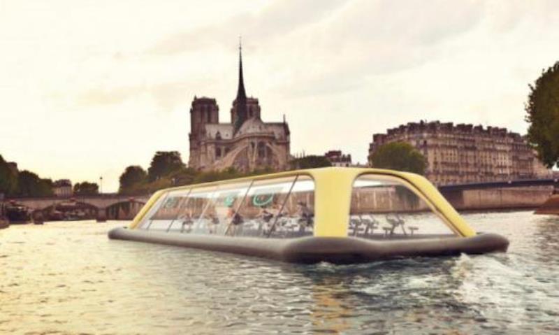巴黎漂浮健身房