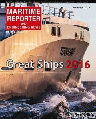 2016年世界名船TOP10榜单出炉