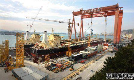 韩国三大船企去年接单量不及撤单量