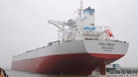 渤船交付21万吨散货船12号船迎来开门红