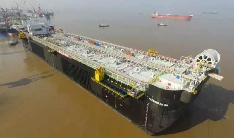 中远海运重工新年交付首个FPSO建造项目