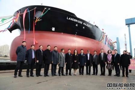 大船集团交付今年首艘30.8万吨VLCC