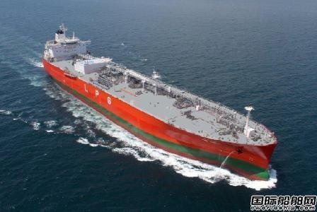 DryShips进入液化气船市场