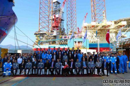 大宇造船交付全球最大自升式钻井平台