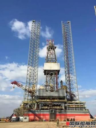 中集来福士H1300平台完成最后一个大型试验