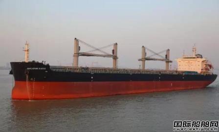 3天1艘!中船澄西交付2017年第4艘新造船