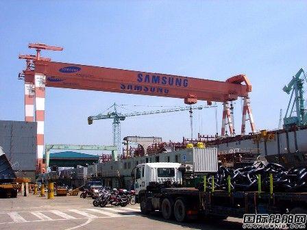 韩国三大船企今年接单目标一致