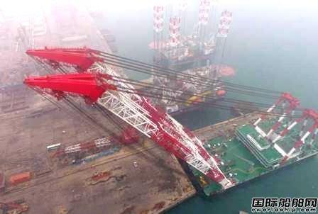 """海西重机助力""""大桥海鸥""""号起重船"""