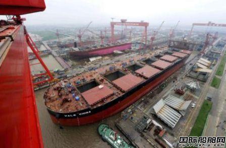 全球前10船厂接单占比高达77%