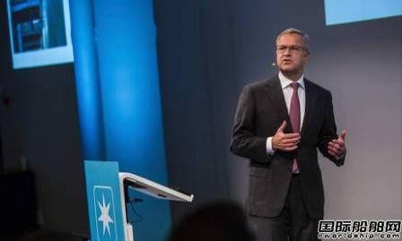 马士基CEO:全球航运市场正在恢复