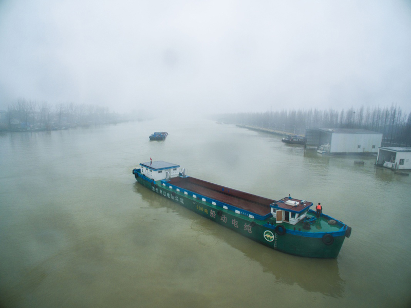 浙江:新能源纯电动货运船将投入营运