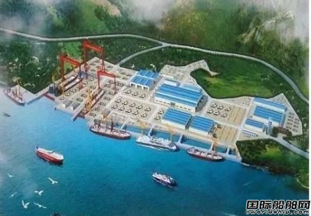"""舟山""""外高桥造船""""50万吨船坞动工"""