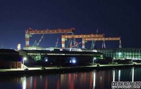 今治水造船包升两级跃居全球第二