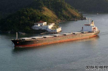 """巴拿马型散货船抛锚海上""""待价而沽"""""""