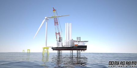 SeaOwls和Ulstein推出新型自升自航式重吊船设计
