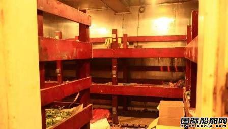远浩船务货船遭印度扣押23名船员被困