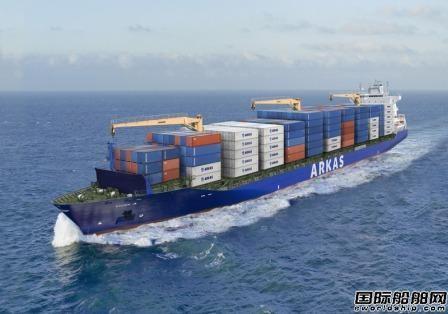 Orange为Arkas航运提供船岸混合通信网络