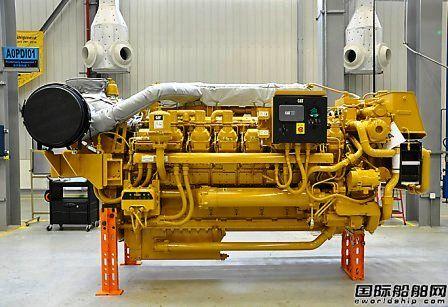 卡特彼勒天津工厂投产3500系列船机