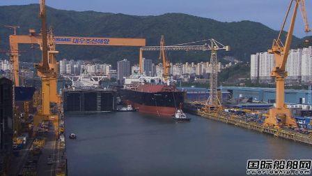韩国船厂手持订单依然位居全球三甲