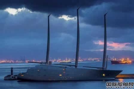 拖欠船厂货款全球最大游艇被扣押