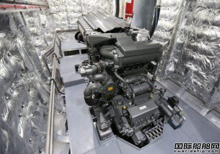 洋马为2艘双体客渡船配套新型共轨柴油机