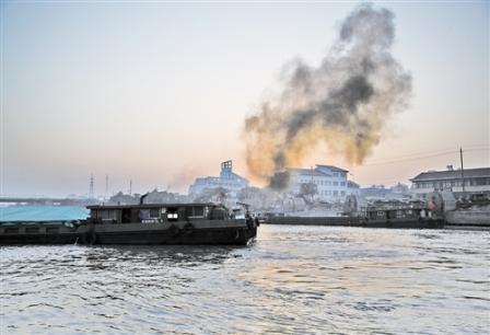 船舶港口排放已成为大气污染重要来源之一