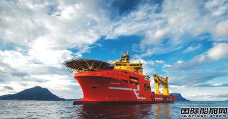 Eidesvik出售出售一艘海上施工船