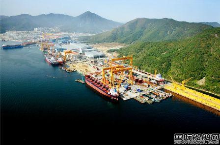 韩国中型船企面临毁灭性打击