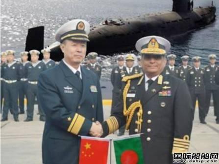 孟加拉国海军接收2艘中国造潜艇
