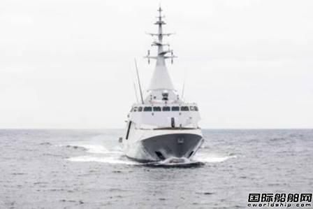 DCNS公司造Gowind 2500护卫舰通过首次海试